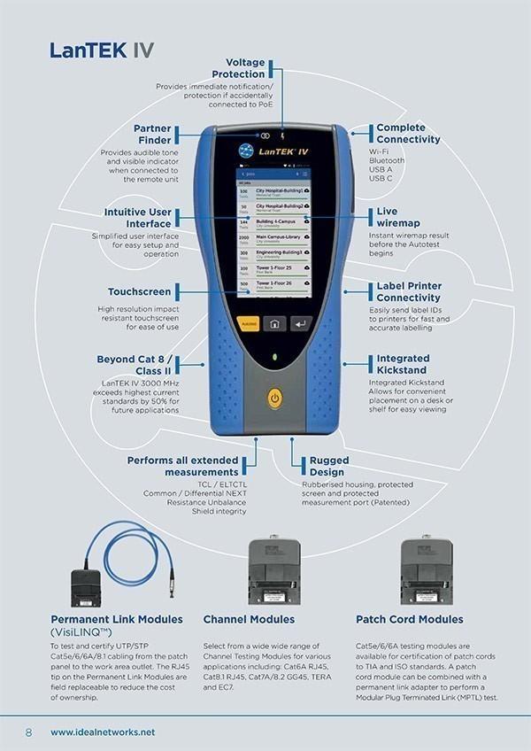 LanTEK IV Cable Certifier