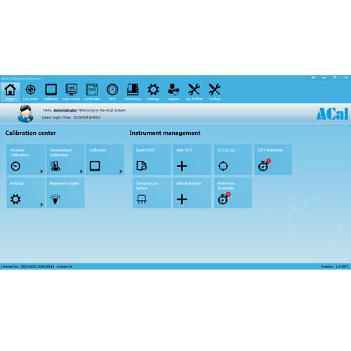 Additel-ACal-9530-dashboard